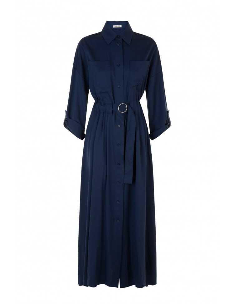 max & moi - robe - bleu marine - femme -toulouse
