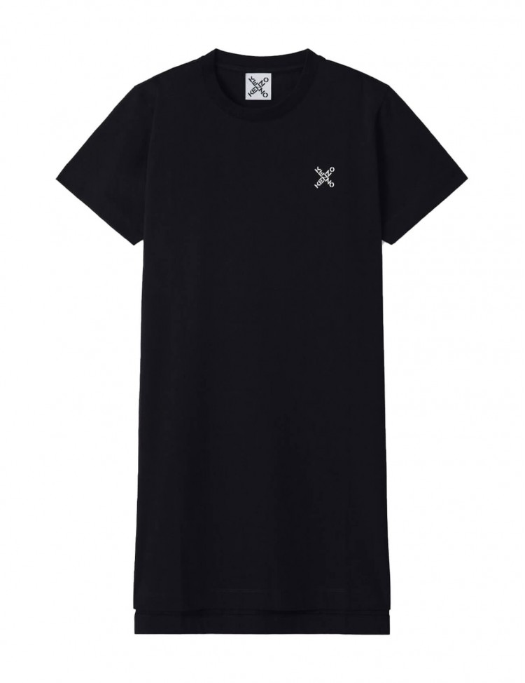 Robe T-shirt - Kenzo - noire - femme- Toulouse