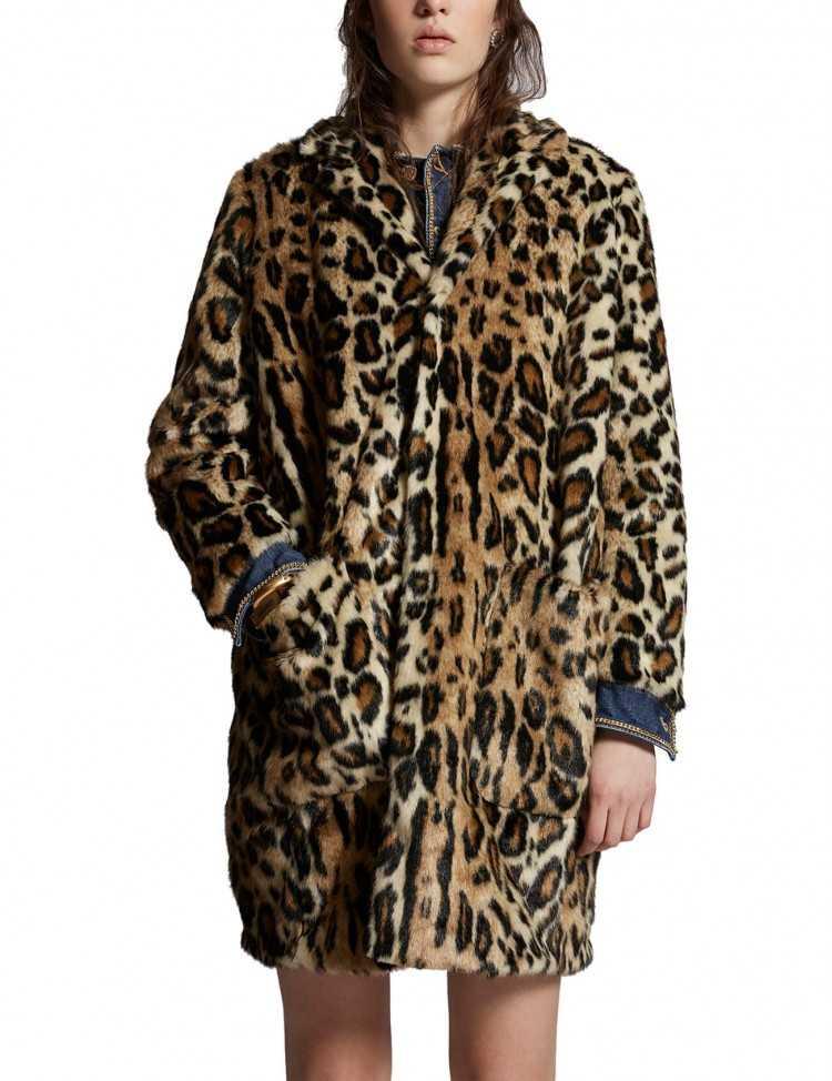Manteau Motif Léopard - Dsquared2 pour Femme à Toulouse