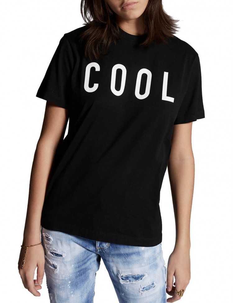 """T-shirt """"Cool"""" Noir - Dsquared2 pour Femme à Toulouse"""