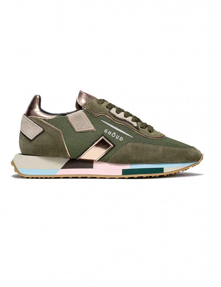 Sneakers Ghoud Rush Vertes - Ghoud Venice pour Femme