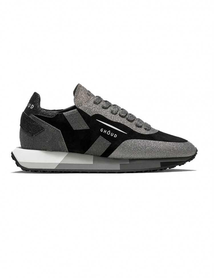 Sneakers Ghoud Rush Silver Black - Ghoud Venice pour Femme