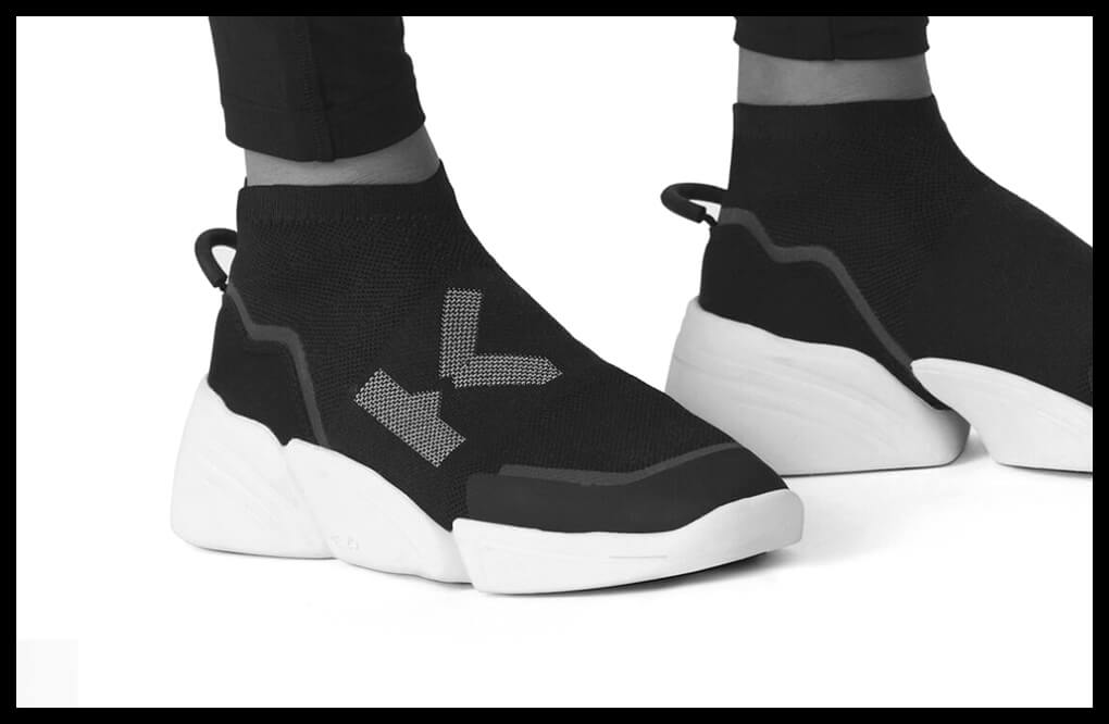 Outlet - Promotions chaussures baskets mode pour femme